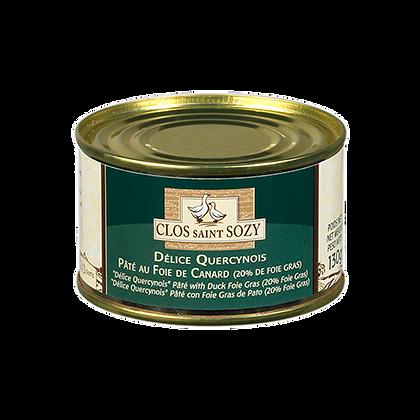 Pâté au Foie de CANARD du Sud-Ouest (20% Foie Gras)