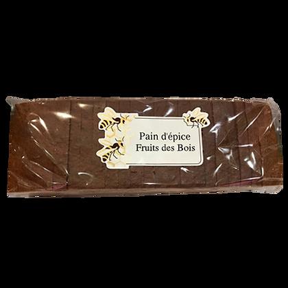 PAIN D'EPICES Tranché aux Fruits des Bois