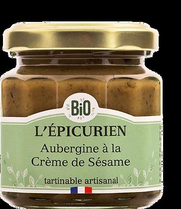 Aubergine à la Crème de Sésame Bio - L'Epicurien