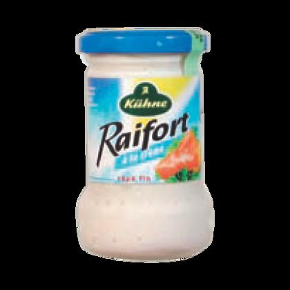 Sauce RAIFORT à la Crème - Raoul Gey