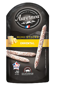 Mini Sticks Emmental VPF par 10