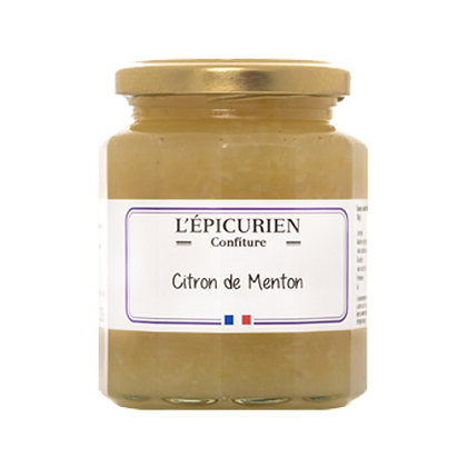 Confiture Citron de Menton - l'Epicurien
