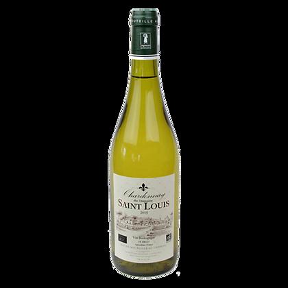 CHARDONNAY Blanc Bio  2015 - Domaine Saint Louis