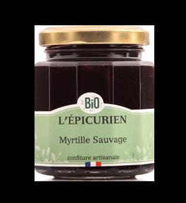 Confiture BIO Myrtille Sauvage - L'Epicurien