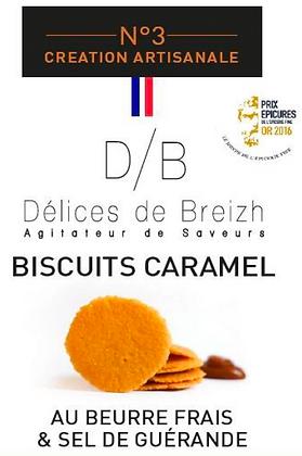 Biscuit Caramel - Délices de Breizh