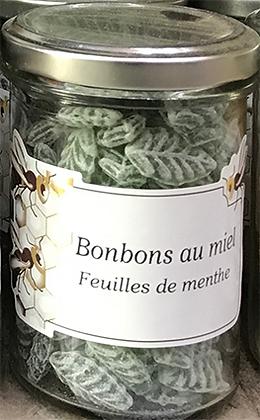 Bonbons au MIEL Feuilles de Menthe