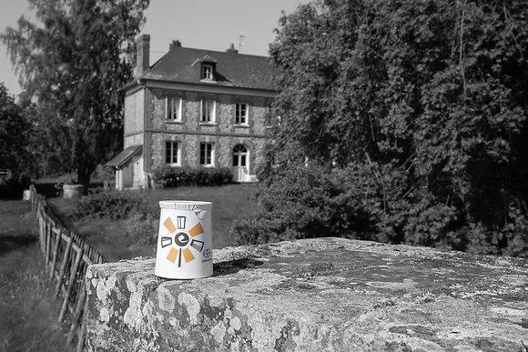 """Yaourt Vanille au Lait de Vache X4 """"Ferme des Peupliers"""""""