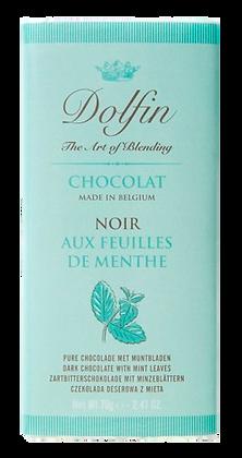 Tablette de Chocolat Noir aux Feuilles de Menthe - Dolfin