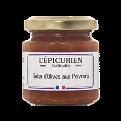 Salsa d'OLIVES et POIVRONS - L'Epicurien