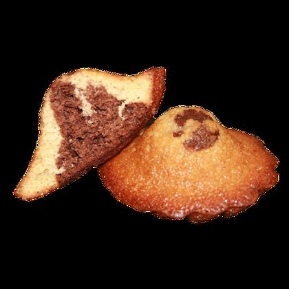 Madeleines Artisanales JEANNETTE cœur Chocolat