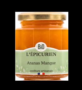 Confiture BIO Ananas Mangue - L'Epicurien