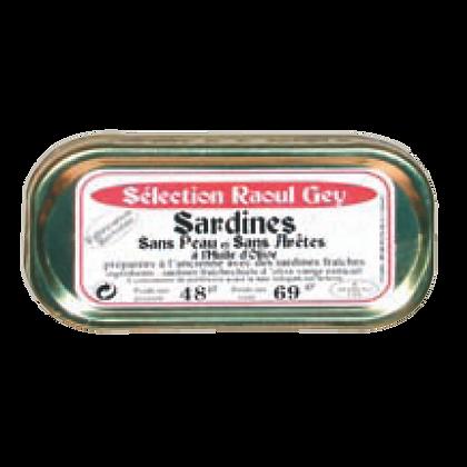 Sardines sans Peau et sans Arrêtes