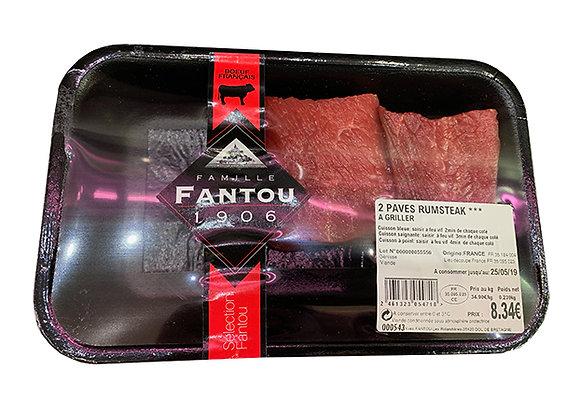 2 pavés de Boeuf épicés aux 3 poivres - Famille Fantou
