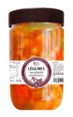 Légumes pour Couscous - Raoul Gey