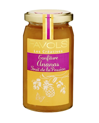 Confiture Ananas-Fruits de la Passion - Favols
