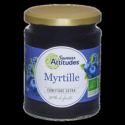 Confiture Extra de MYRTILLE Bio - Naturgie