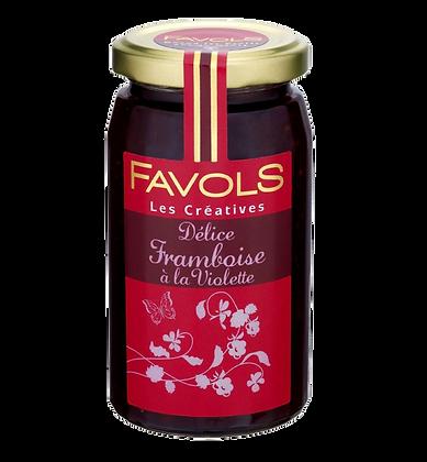 Confiture de Framboise à la Violette - Favols