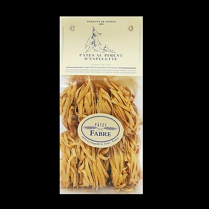 Pâtes Artisanales Maison FABRE - TAGLIATELLES Nid au Piment d'Espelette