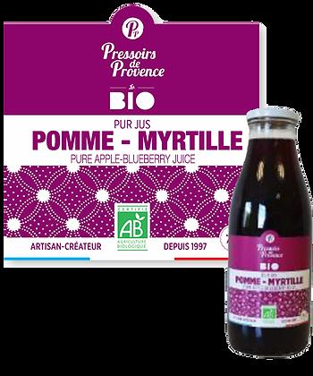 Pur Jus POMME - MYRTILLE Bio