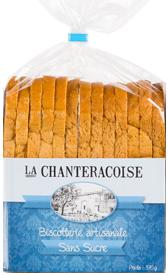 BISCOTTES sans Sucre 370 g - La Chanteracoise