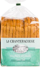 BISCOTTES sans Sel 370 g - La Chanteracoise