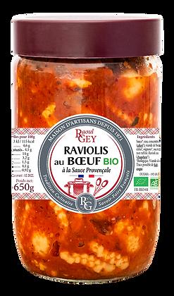 Raviolis au Bœuf Bio - Raoul Gey