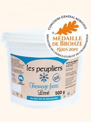Fromage Blanc lissé - La Ferme des Peupliers