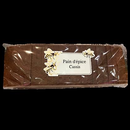 PAIN D'EPICES Tranché Miel & Cassis
