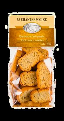 Toast Apéritif aux 7 Céréales - La Chantecroise