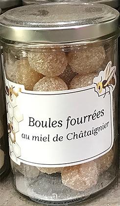 Boules fourrées au MIEL de Châtaignier