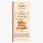 Tablette de Chocolat au Lait Dulce de Leche & Riz Soufflé - Dolfin