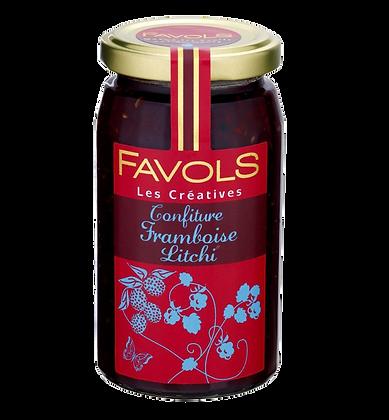 Confiture de Framboise Litchi - Favols