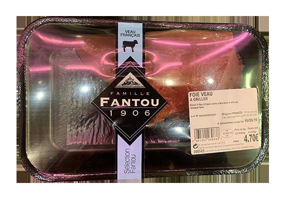 Foie de Veau - Famille Fantou
