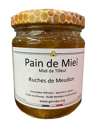 Pain de Miel de Tilleul - Ruches de Meudon