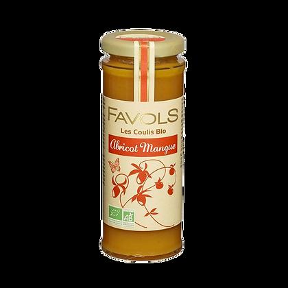 Coulis ABRICOT-MANGUE Bio - Favols