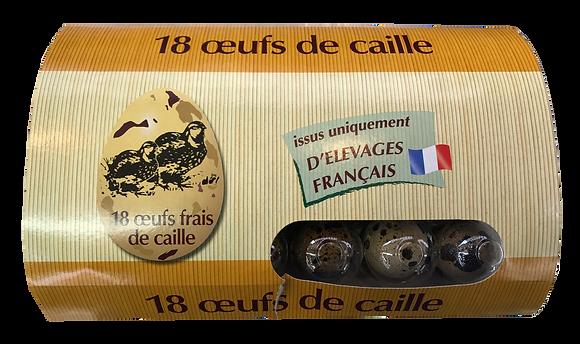 ŒUF de Caille issus d'Elevage Français
