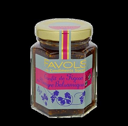 Chutney de FIGUE au Vinaigre Balsamique - Favols
