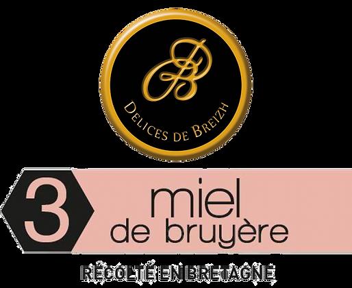 MIEL de Bruyère - Délices de Breizh