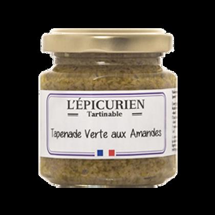 TAPENADE Verte aux Amandes - L'Epicurien