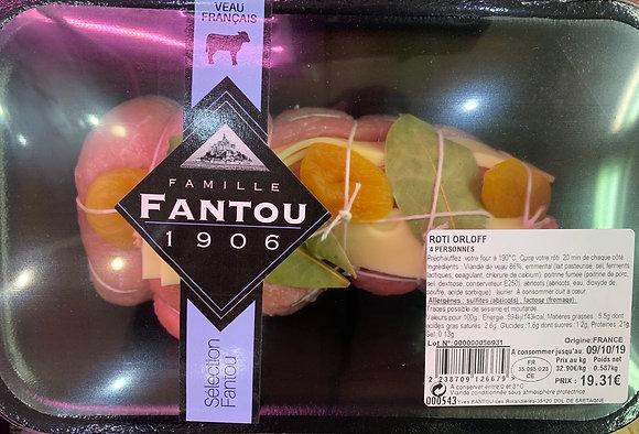 Rôti de Veau Orloff 4 Personnes - Famille Fantou