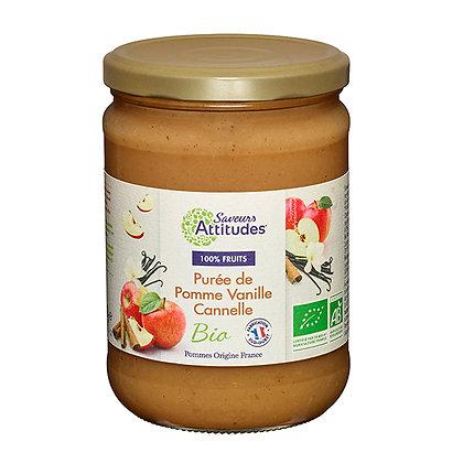 PURÉE de POMMES VANILLE CANNELLE (Pommes de France)