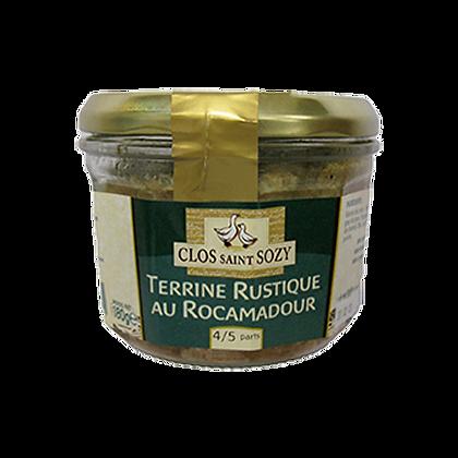 Terrine RUSTIQUE au Rocamadour