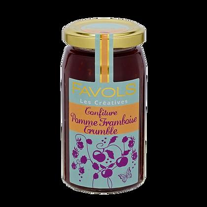 Délice POMME-FRAMBOISE-CRUMBLE - Favols