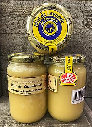MIEL de Lavande Fine de Provence IGP et Label Rouge