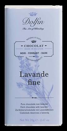 Tablette de Chocolat Noir Lavande Fine de Haute Provence - Dolfin