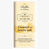Tablette de Chocolat au Lait au Caramel et Beurre Salé - Dolfin