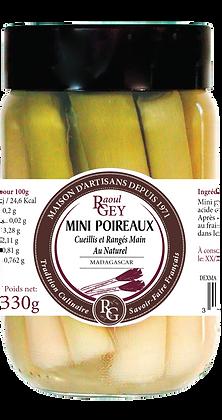 Mini Poireaux au Naturel - Raoul Gey