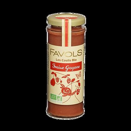 Coulis FRAISE-GOYAVE Bio - Favols