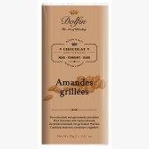 Tablette de Chocolat Noir Amandes Grillées - Dolfin