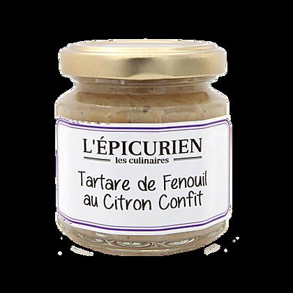 Tartare de FENOUIL au Citron confits - L'Epicurien